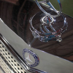 Lancaster Insurance Classic Car Show NEC (246 of 250) Mercedes front badge grill