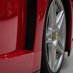 Lancaster Insurance Classic Car Show NEC (25 of 250) Ferrari Enzo front wheel vent