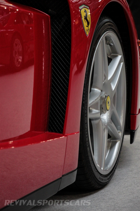 Lancaster Insurance Classic Car Show NEC (25 of 250) Ferrari Enzo front wheel vent