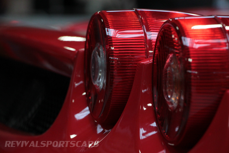 Lancaster Insurance Classic Car Show NEC (27 of 250) Ferrari Enzo Rear lights closeup