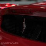Lancaster Insurance Classic Car Show NEC (28 of 250) Ferrari Enzo rear grill closeup