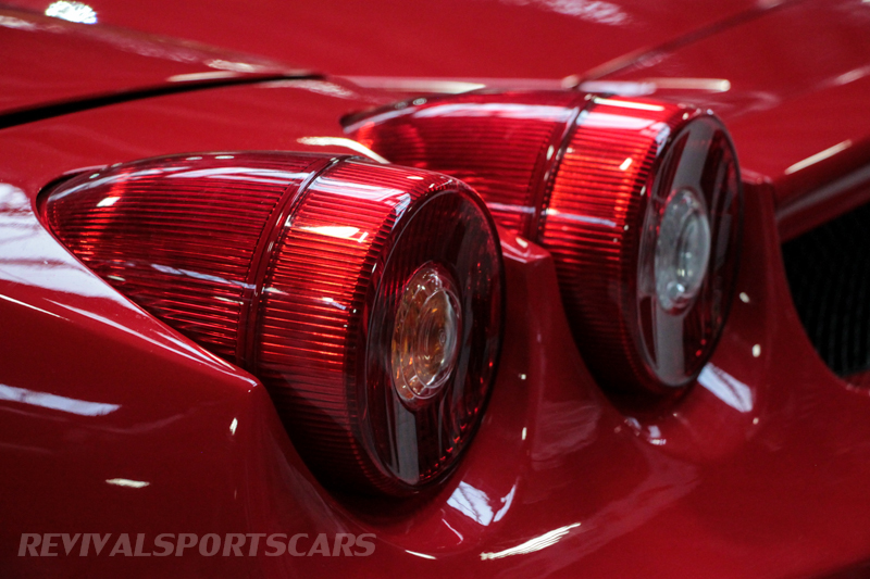 Lancaster Insurance Classic Car Show NEC (31 of 250) Ferrari Enzo rear lights