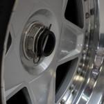 Lancaster Insurance Classic Car Show NEC (38 of 250) Ferrari F40 Alloy Wheel closeup