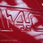 Lancaster Insurance Classic Car Show NEC (39 of 250) Ferrari F40 wing closeup