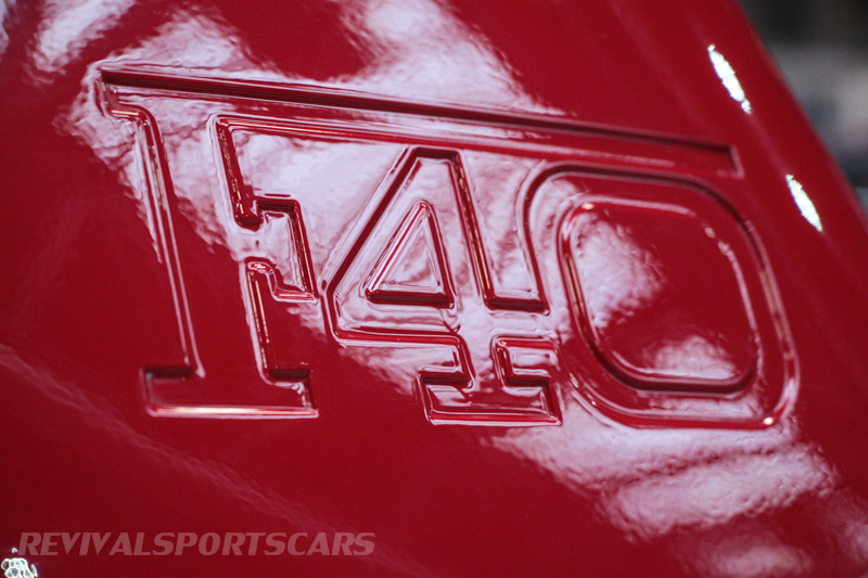 Lancaster Insurance Classic Car Show NEC (39 of 250) Ferrari F40 wing closeup