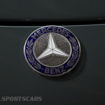 Lancaster Insurance Classic Car Show NEC (43 of 250) Mercedes 300SL Front badge detail