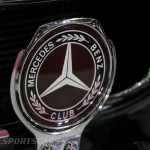 Lancaster Insurance Classic Car Show NEC (44 of 250) Mercedes 300SL Owners club badge