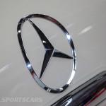 Lancaster Insurance Classic Car Show NEC (50 of 250) Mercedes 250SL rear badge
