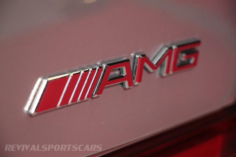 Lancaster Insurance Classic Car Show NEC (51 of 250) Mercedes AMG Badge closeup