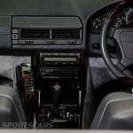 Lancaster Insurance Classic Car Show NEC (52 of 250) Mercedes SL65 AMG convertible cockpit