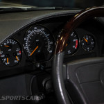 Lancaster Insurance Classic Car Show NEC (53 of 250) Mercedes SL65 AMG Dial closeup