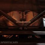 Lancaster Insurance Classic Car Show NEC (6 of 250) Jaguar XJ220 Engine rear glass
