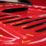 Lancaster Insurance Classic Car Show NEC (63 of 250) Ferrari F355 rear engine vents