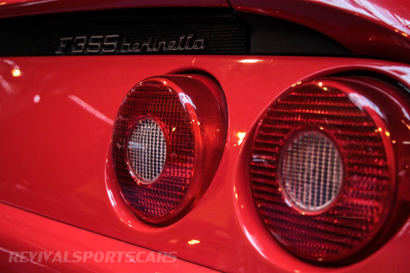 Lancaster Insurance Classic Car Show NEC (67 of 250) Ferrari F355 rear lights