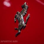 Lancaster Insurance Classic Car Show NEC (68 of 250) Ferrari F355 rear badge closeup