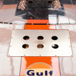 Lancaster Insurance Classic Car Show NEC (75 of 250) Ford GT40 Gulf colours rear engine cover