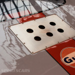 Lancaster Insurance Classic Car Show NEC (78 of 250) Ford GT40 Gulf rear engine vents cover