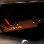 Lancaster Insurance Classic Car Show NEC (80 of 250) Ford GT40 dashboard switches closeup