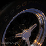 Lancaster Insurance Classic Car Show NEC (84 of 250) Ford GT40 alloy wheel closeup