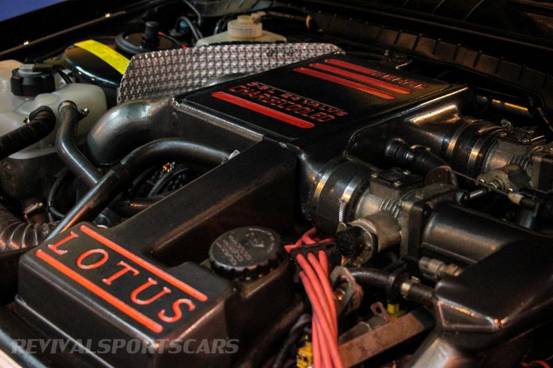 Lancaster Insurance Classic Car Show NEC (89 of 250) Lotus Carlton Engine bay closeup