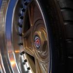 Lancaster Insurance Classic Car Show NEC (95 of 250) Ferrari 330 P4 alloy wheel closeup