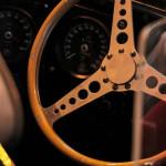 Lancaster Insurance Classic Car Show NEC (98 of 250) Jaguar interior wheel