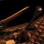 Lancaster Insurance Classic Car Show NEC (99 of 250) Jaguar races hadnbrake detail