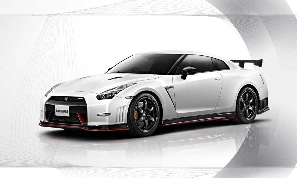 Nissan GTR Nismo Edition 2014 White background front