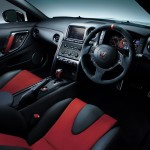 Nissan GTR Nismo Edition 2014 White interior cockpit drivers angle