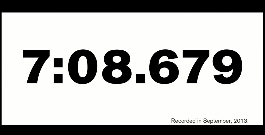 Nissan GTR Nismo nurburgring record 7'08'67