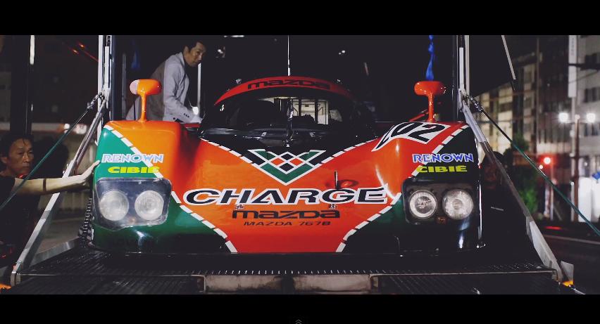 Mazda 787B Le Mans' Luke Huxham