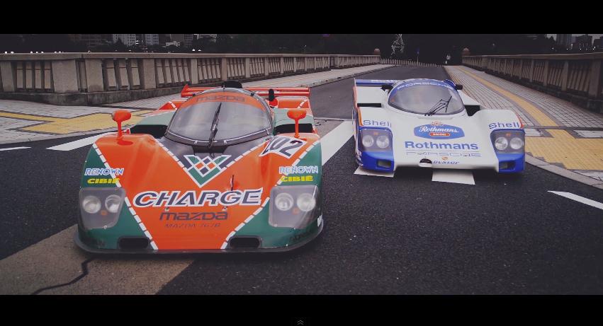 Mazda 787B Porsche 962C Le Mans' Luke Huxham