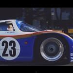 Porsche 962C Jaguar XJ220LM street side Le Mans' Luke Huxham