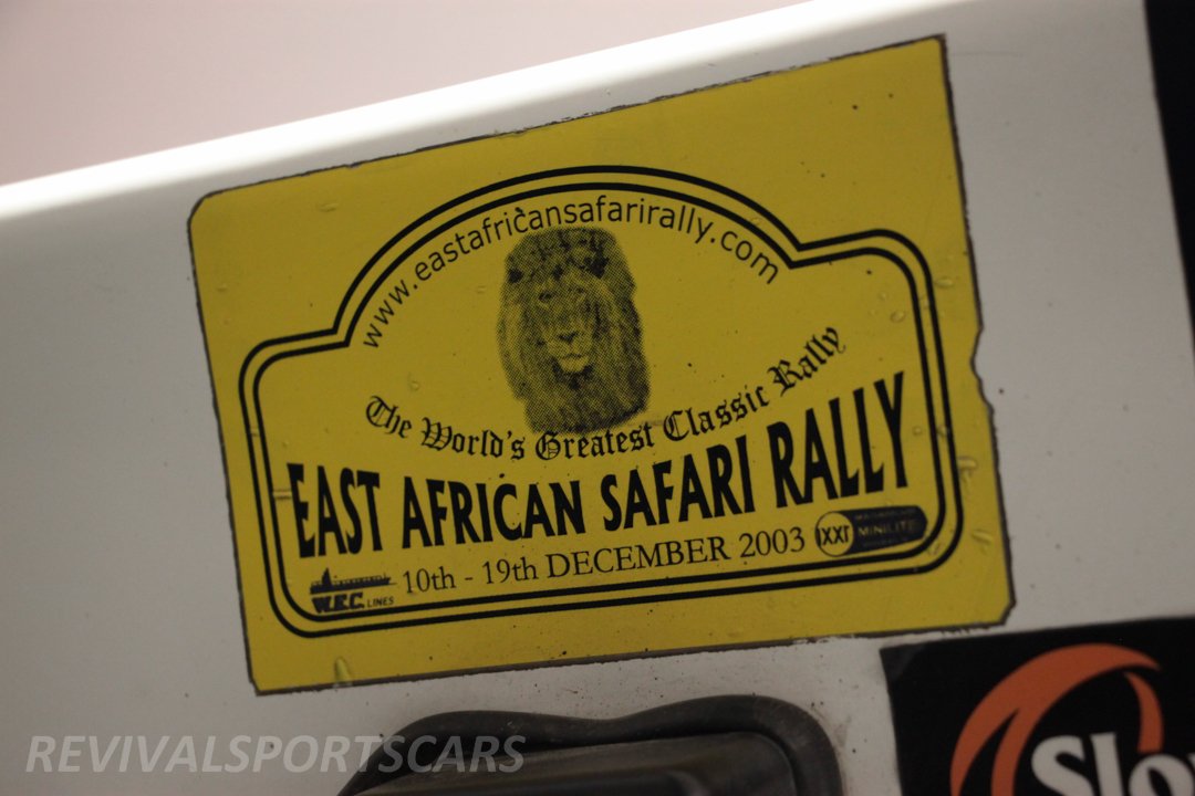 Race Retro 2014 Classic Motorsport 1988 Lancia  037 Rally car east african rally 2003
