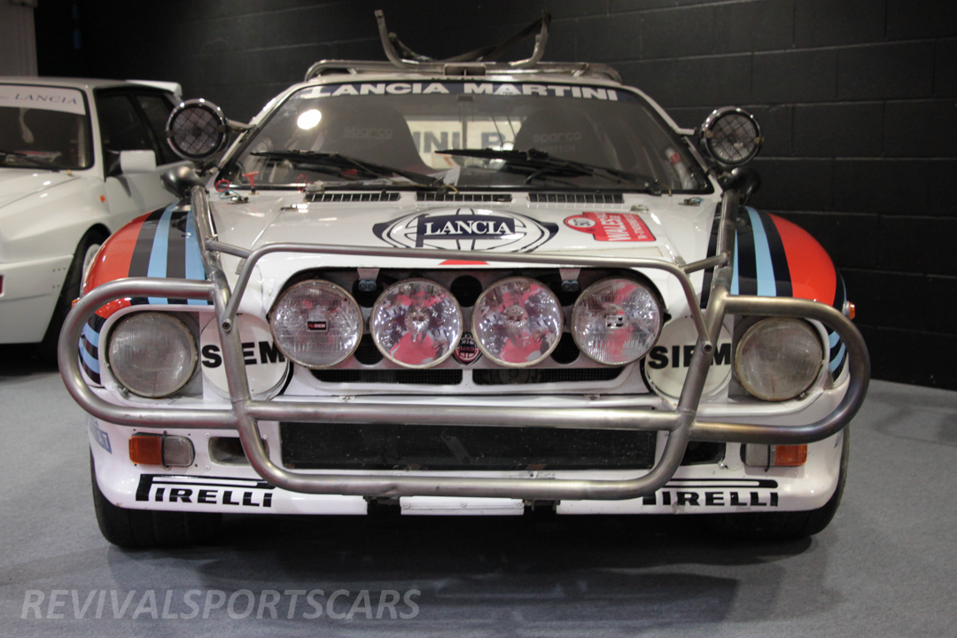 Race Retro 2014 Classic Motorsport 1988 Lancia  037 Rally car front view