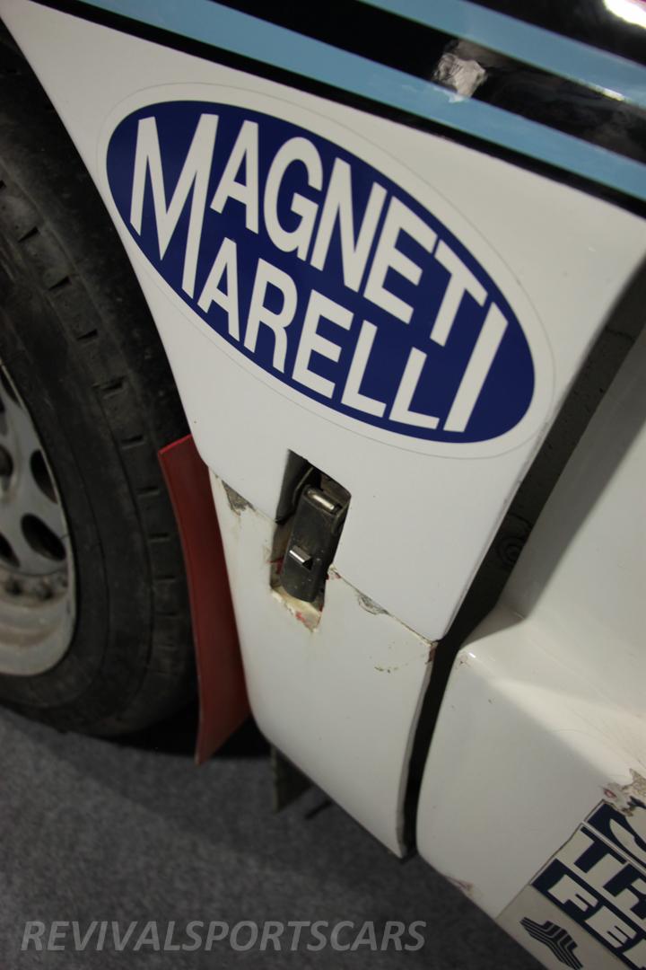 Race Retro 2014 Classic Motorsport 1988 Lancia  037 Rally car wheel arch