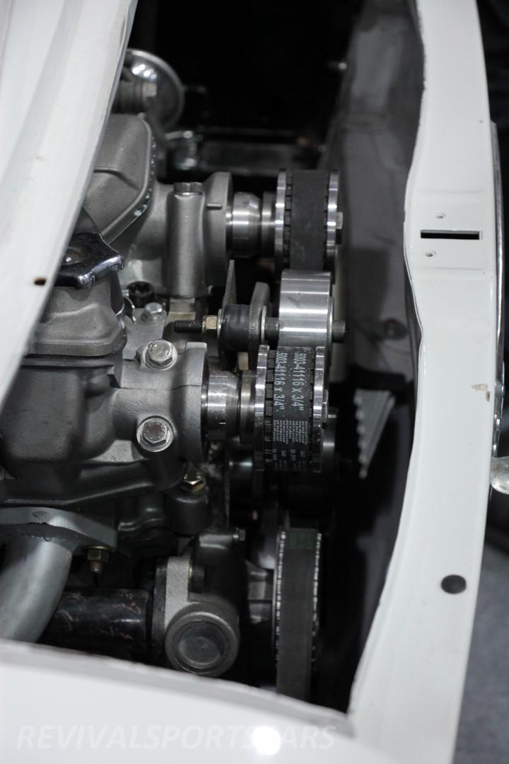 Race Retro 2014 Classic Motorsport Abarth Racing Car engine bay