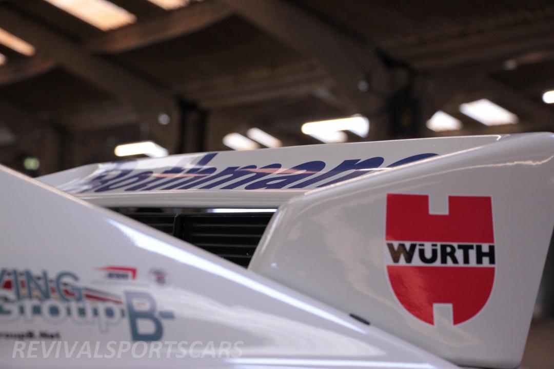 Race Retro 2014 Classic Motorsport Audi Quattro UR rally car rear spoiler
