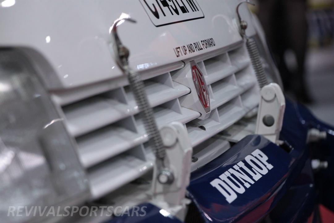 Race Retro 2014 Classic Motorsport Austin Metro 6R4 Rally car front grill closeup