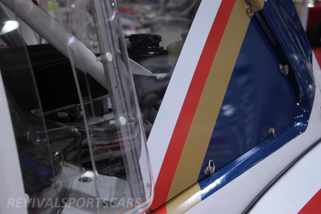 Race Retro 2014 Classic Motorsport Austin Metro 6R4 Rally car rear window vents