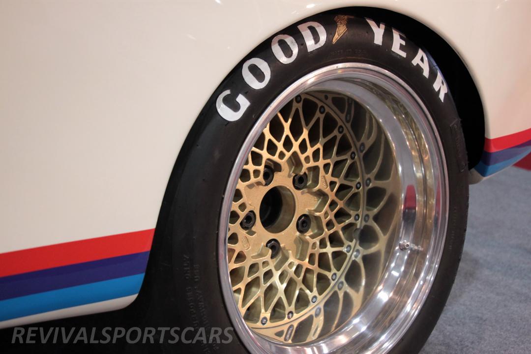 Race Retro 2014 Classic Motorsport BMW 3.0 CSL Rear wheel arch