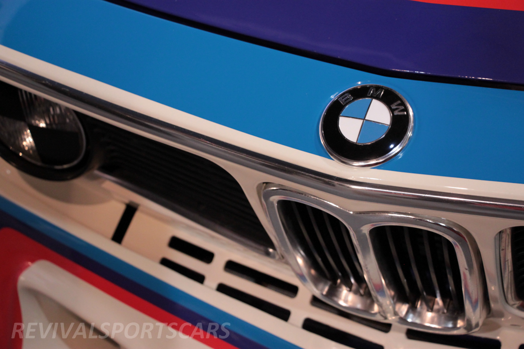Race Retro 2014 Classic Motorsport BMW 3.0 CSL front detail