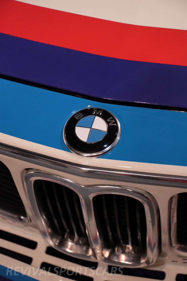 Race Retro 2014 Classic Motorsport BMW 3.0 CSL front grill above
