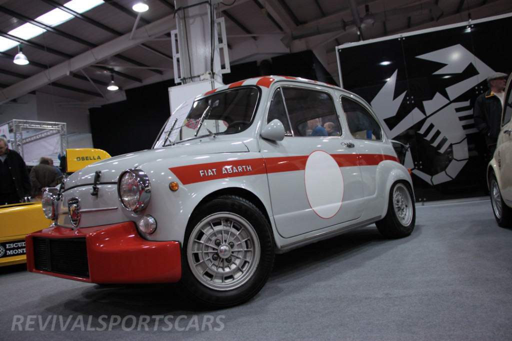 Race Retro 2014 Classic Motorsport Fiat Abarth 1000 front