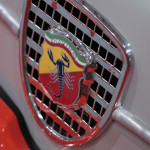 Race Retro 2014 Classic Motorsport Fiat Abarth 1000 front grill