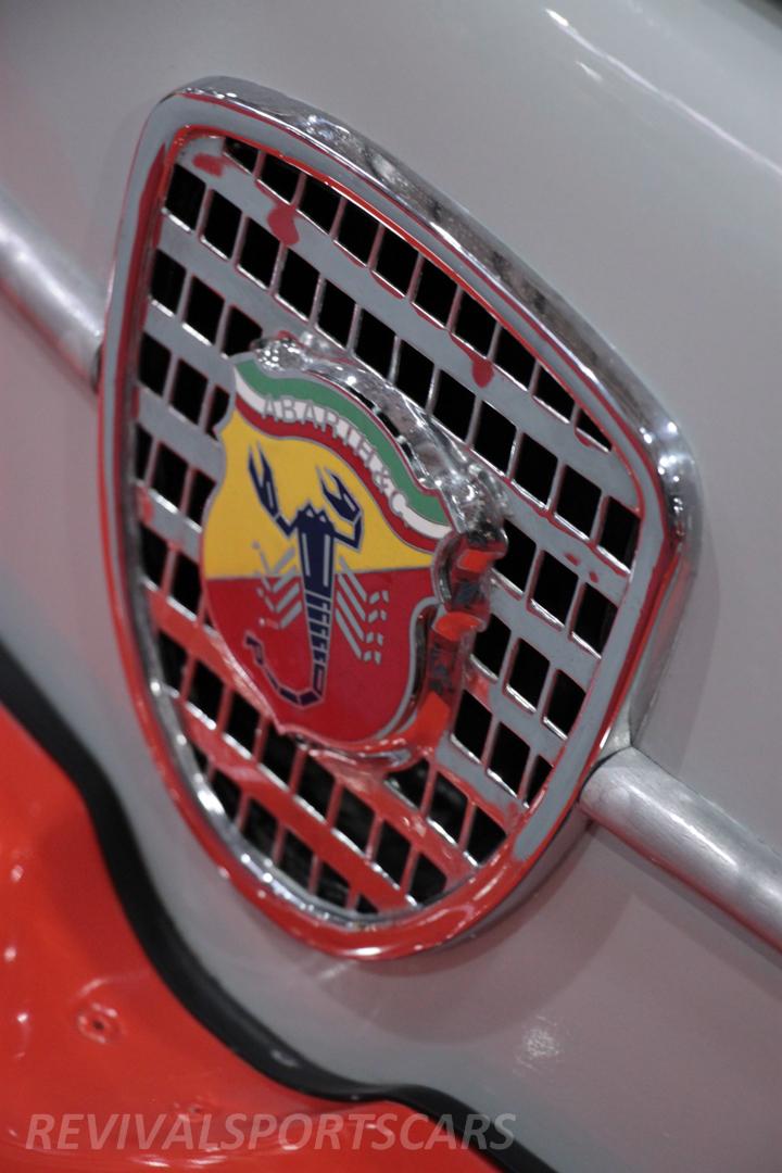 Race Retro 2014 Classic Motorsport Fiat Abarth 1000 front grill