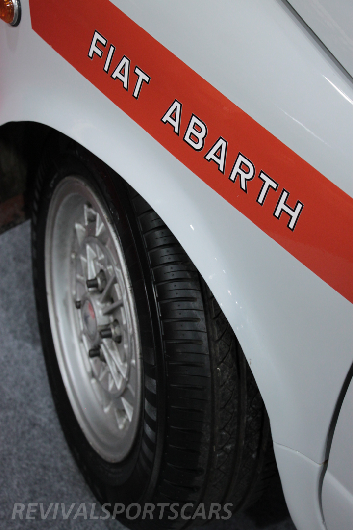 Race Retro 2014 Classic Motorsport Fiat Abarth 1000 front wheelarch