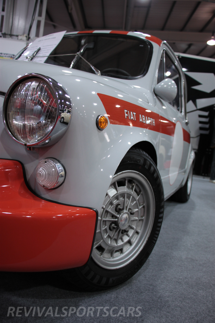 Race Retro 2014 Classic Motorsport Fiat Abarth 1000 side view