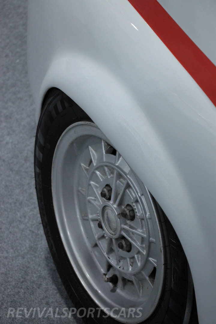 Race Retro Classic Motorsport Fiat Abarth Wheel Arch Wheels