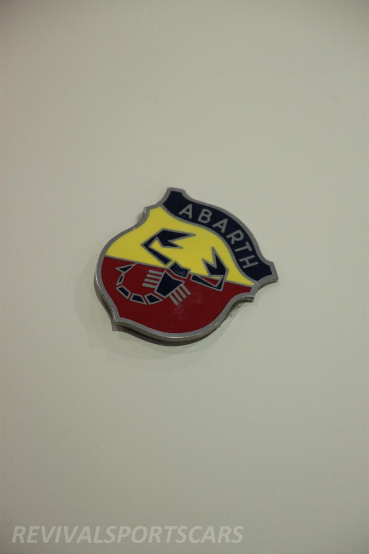 Race Retro 2014 Classic Motorsport Fiat Abarth 595 badges